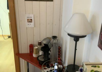 Kaffee-Ecke